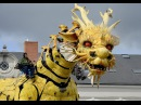 Mechanical horse dragon Long Ma Nantes France french happy chinese new year
