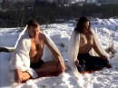 Туммо - Йога внутреннего тепла. Голышом на морозе -20°C