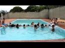 Ponte humana na piscina Retiro 2012 UMAP CUMBICA