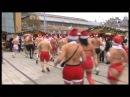 Європейські санта клауси бігали вбрані і голі