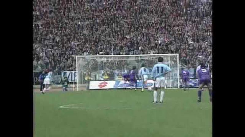 Lazio 8-2 Fiorentina - Campionato 1994/95