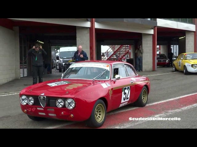 Alfa GTA,GTA/M TRACKDAY SPA GREAT SOUND