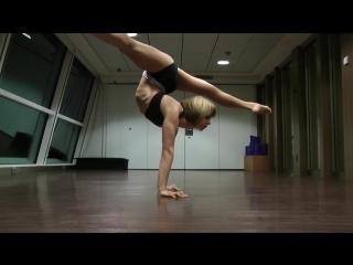 Haley viloria contortion techinical demo