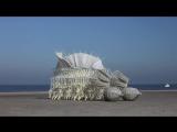 Скульптуры, управляемые ветром