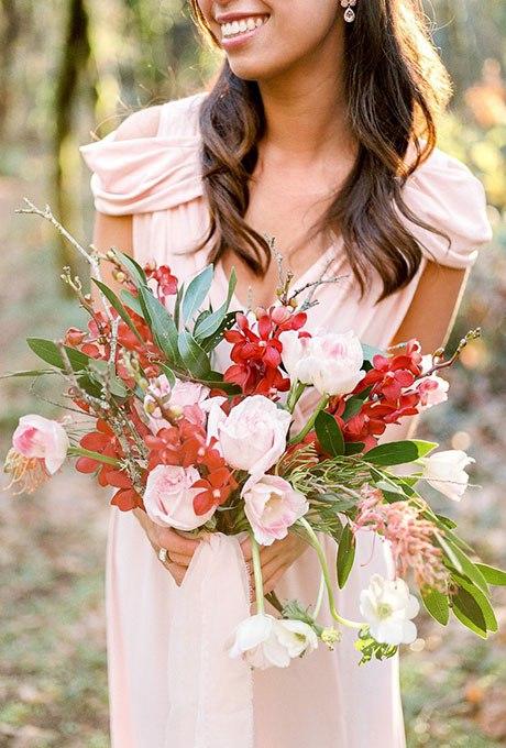 O7j QxGv0UE - 20 Весенних свадебных букетов с тюльпанами