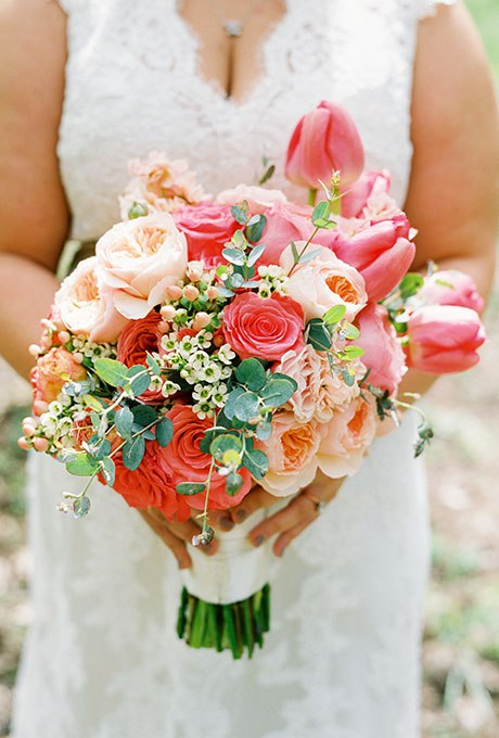 aK5xm91xdEw - 20 Весенних свадебных букетов с тюльпанами