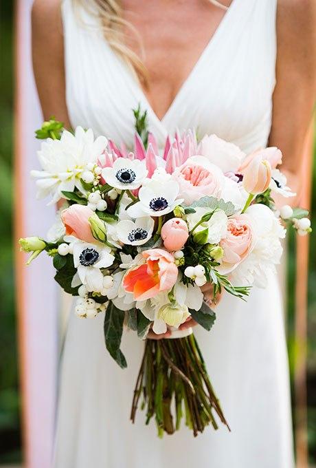 X0FI8U05Ss - 20 Весенних свадебных букетов с тюльпанами