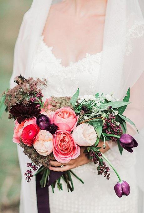 U4my5 ArdRQ - 20 Весенних свадебных букетов с тюльпанами