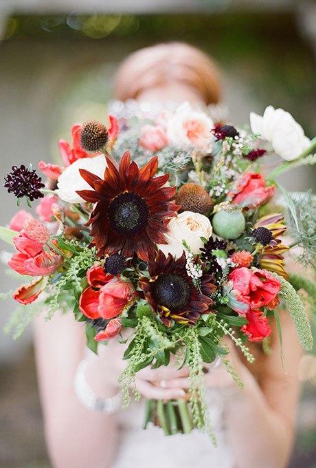 31j5dxVEaJU - 20 Весенних свадебных букетов с тюльпанами