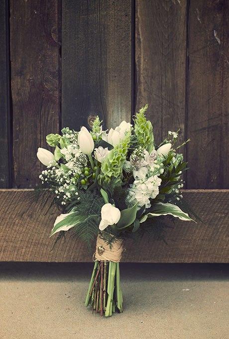 N6C1Wv hFcI - 20 Весенних свадебных букетов с тюльпанами