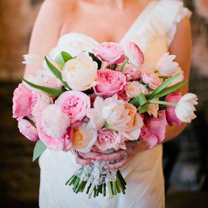 QSkl1fl2Q7Y - 20 Весенних свадебных букетов с тюльпанами