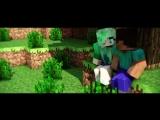 ♫ ПЕСНЯ ПРО МАЙНКРАФТ - 'В любовь стоит верить' (Майнкрафт анимация)