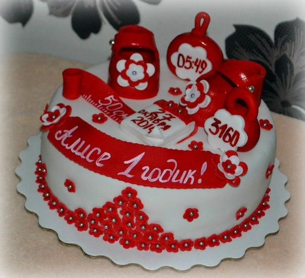 фото торта с днем рождения