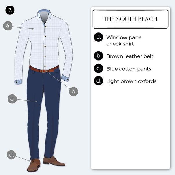 8 отличных стильных бизнес-кэжуал образов на заметку