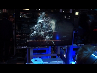 Bloodborne - The Old Hunters DLC TGS 2015 gameplay