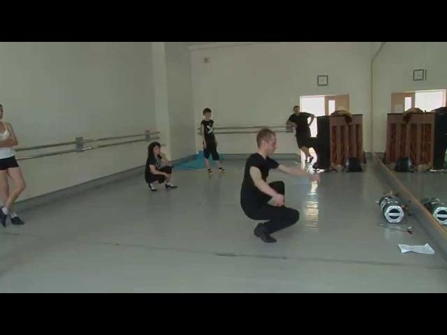 Техника трюков в народном танце. Максим Агеев, Москва