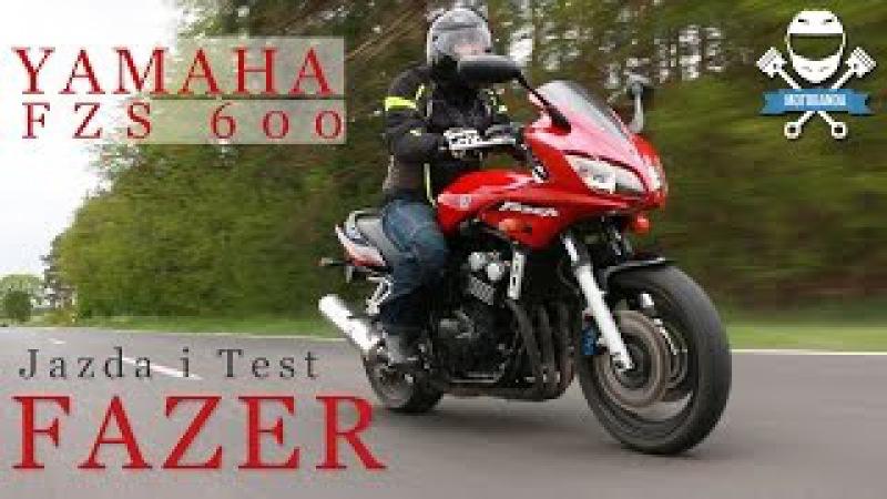Niedrogi motocykl turystyczny Yamaha FZS600 Fazer Test Opinia