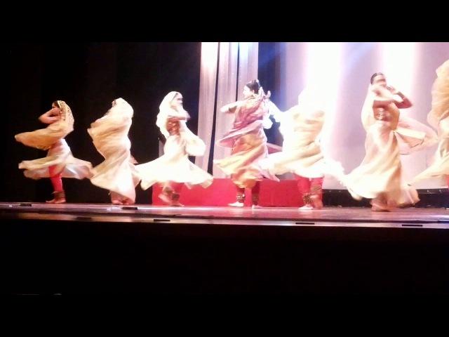 Kathak Kahe Ched Mohe by Pandit Birju Maharaj's Students at Nazaakat 2014