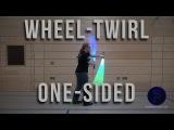 Radwirbel einseitig - Whirl-Twirl one-sided - Dual Lightsaber Trick