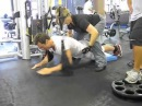 Olympic Swimmers Training with LeeBrandon, CSCS: Omar Pinzon and Marcus Rogan