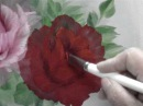 NO3 Red Rose Oil Painting
