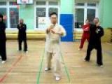 Ван Лин Тайцзи Ян 24 формы Удар кулаком