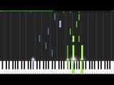Kiss the Rain - Yiruma Piano Tutorial (Synthesia)