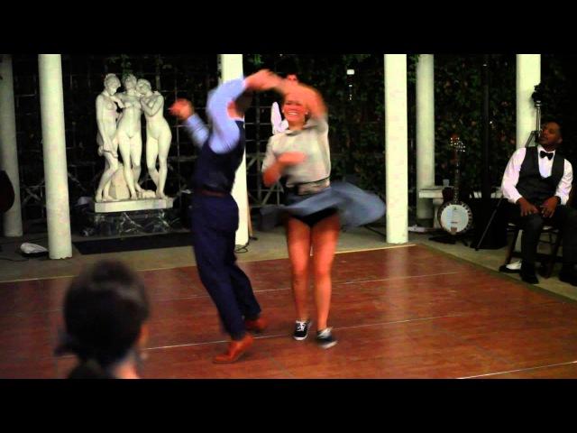 William Mauvais and Maéva Truntzer Dance at Dax and Sarah's Wedding