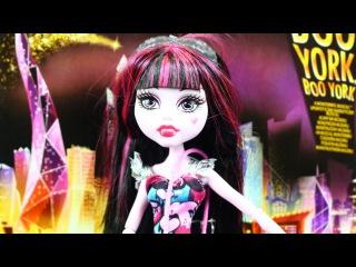 Draculaura / Дракулора - Boo York Boo York / Бу Йорк - Monster High - CHW57 CHW55