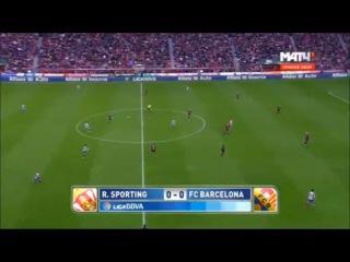 Спортинг Хихон - Барселона 1-3 (17 февраля 2016 г, Чемпионат Испании)