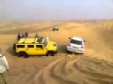 Arabian Offroad Арабский оффроад по песку на лэнд крузер 200