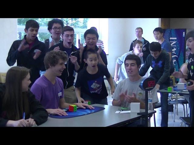 Former Rubik's Cube World Record Collin Burns