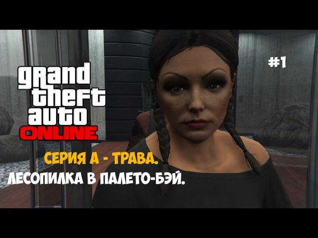GTA 5 Online (1) - Серия А - трава. Лесопилка в Палето-Бэй.