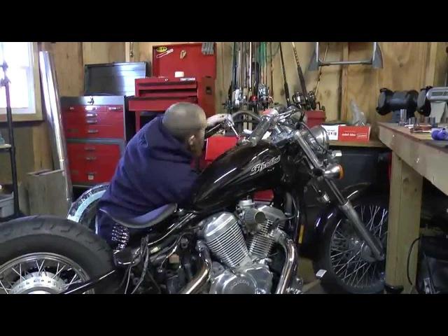 Complete 2004 Honda Shadow Bobber Build
