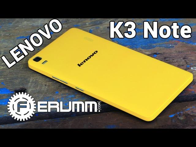 Подробный обзор Lenovo K3 Note K50 t5 честно и без воды