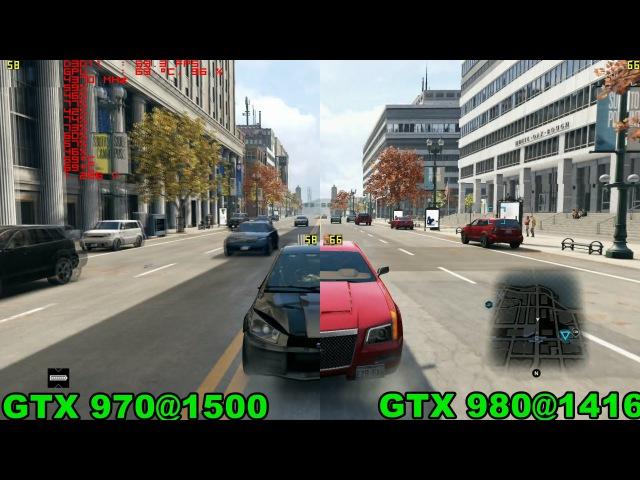 GTX 970 vs 980 in 8 games (Intel i7-3820)