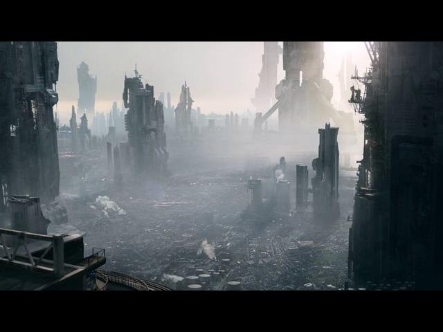 Matte Painting - Futuristic City