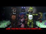 Five Nights At Freddys 2 Rap Animated [SFM FNAF]