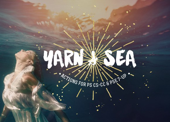 Preset Yarn & Sea Action Collection for lightroom