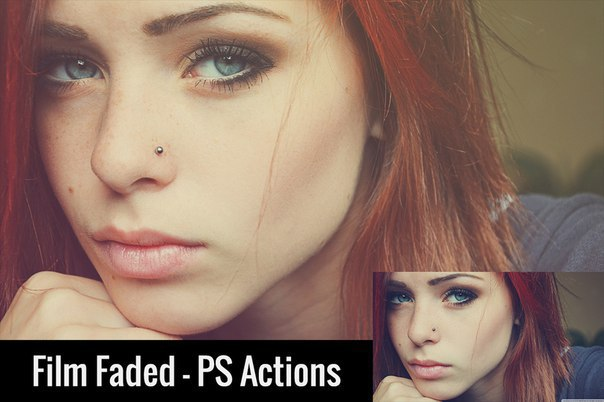Пресет Film Faded - PS Actions для lightroom