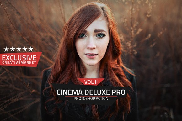 Пресет Pro Deluxe Cinema Action Vol 2 для lightroom