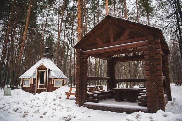 """В парке """"Сокольники"""" организовали две площадки для отдыха на природе"""