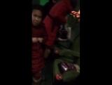 Periscope Гоар Аветисян. 01.12.2015. Гоар с группой в кино