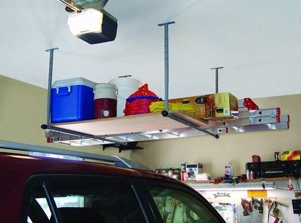Несколько полезных идей для гаража