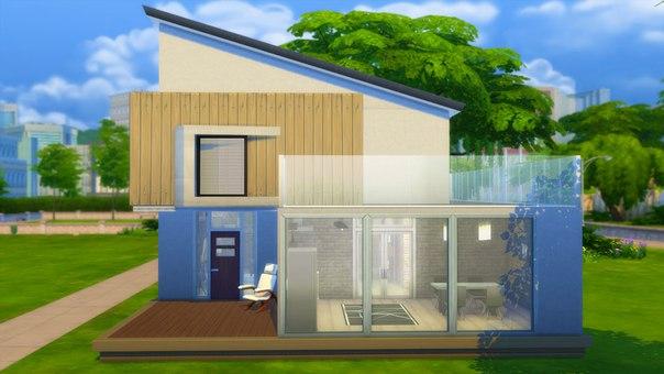 Дом в стиле лофт