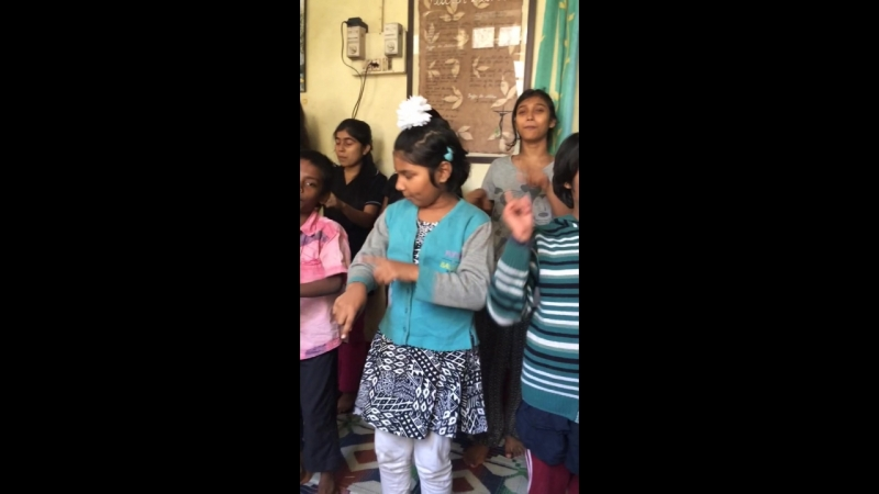 Girl's orphanage, India Kolkata