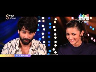 Shahid Kapoor & Alia Bhatt talk about