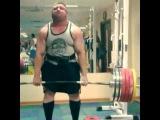 Влад Алхазов, становая тяга с плинтов - 400 кг.