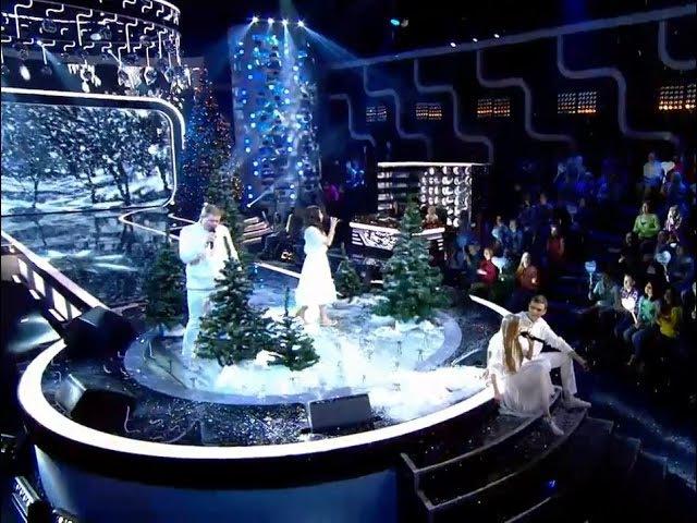 Два голоса: Борисовы и Джалагония — «Снегом белым»