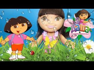 Даша путешественница Изучаем английский язык говорящая игрушка Dora the explorer